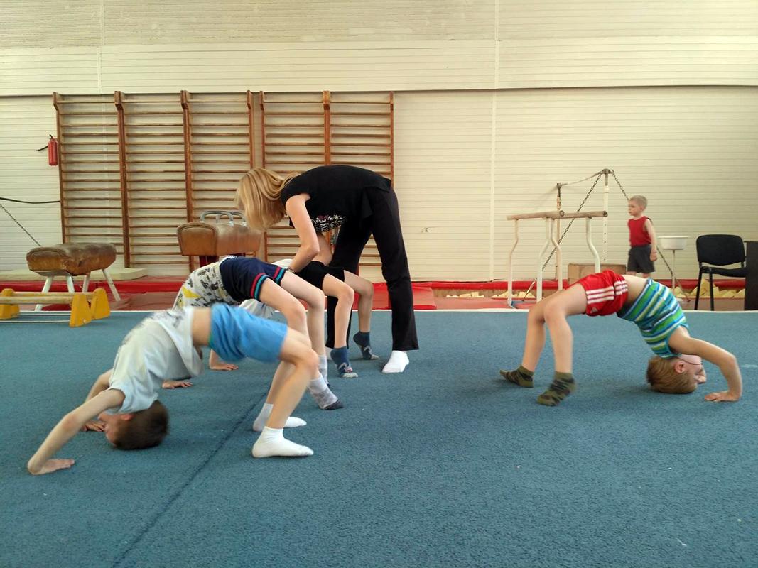 Занятия по гимнастике для детей. Минск