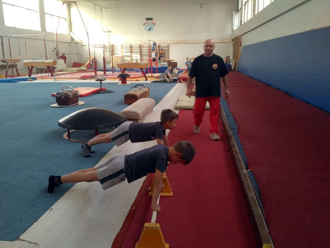 Гимнастика для детей. Минск
