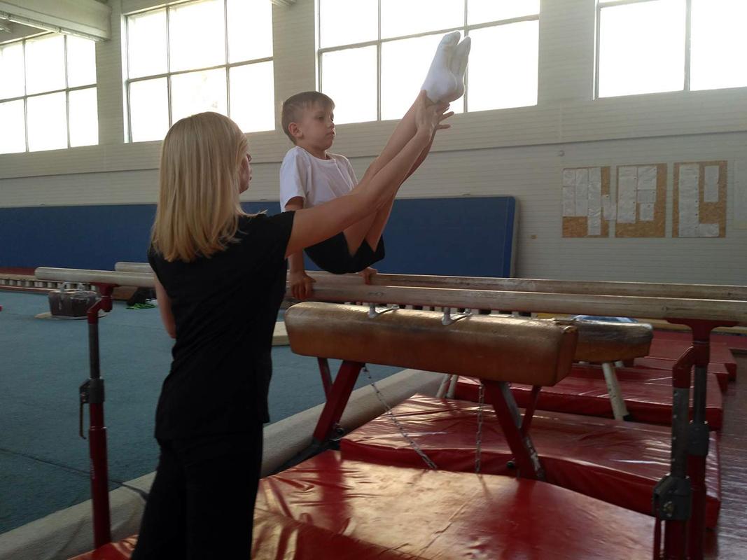 Гимнастика для детей. Тренировка