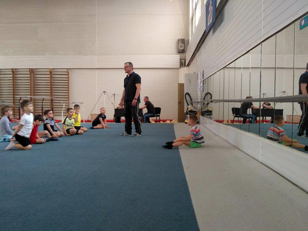 Профессиональная спортивная гимнастика для детей от 3-х лет