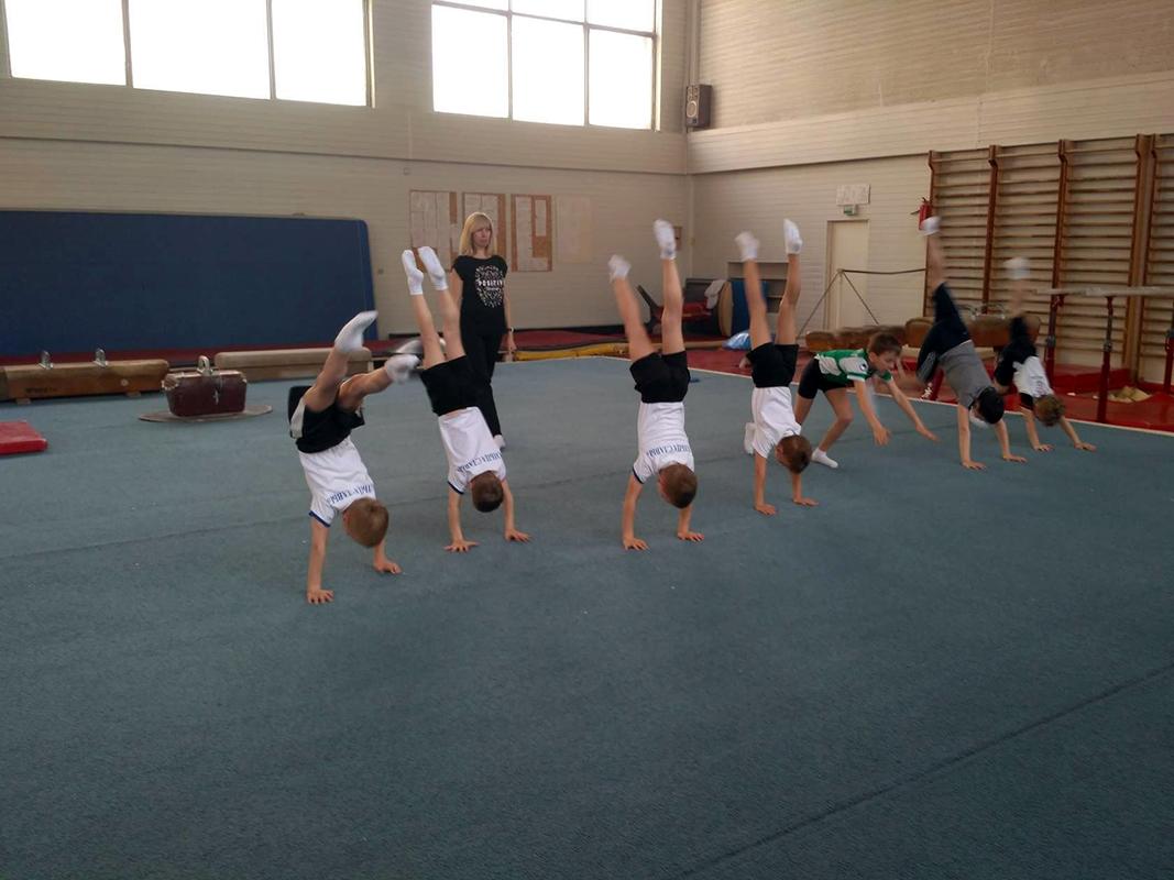 """Гимнастика для детей с 5 лет . Тренировка в """"Мире Гимнастки""""."""