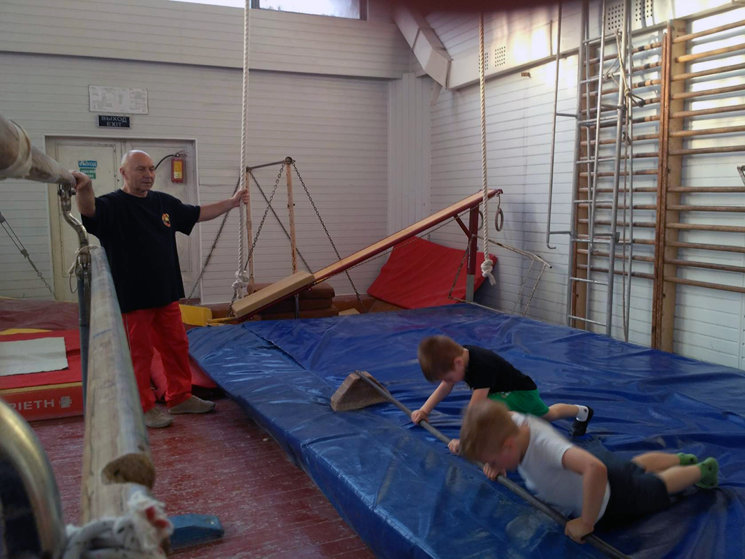 Гимнастика для детей 5 лет