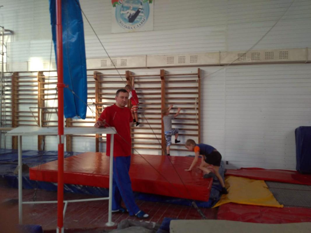 Гимнастика для детей.