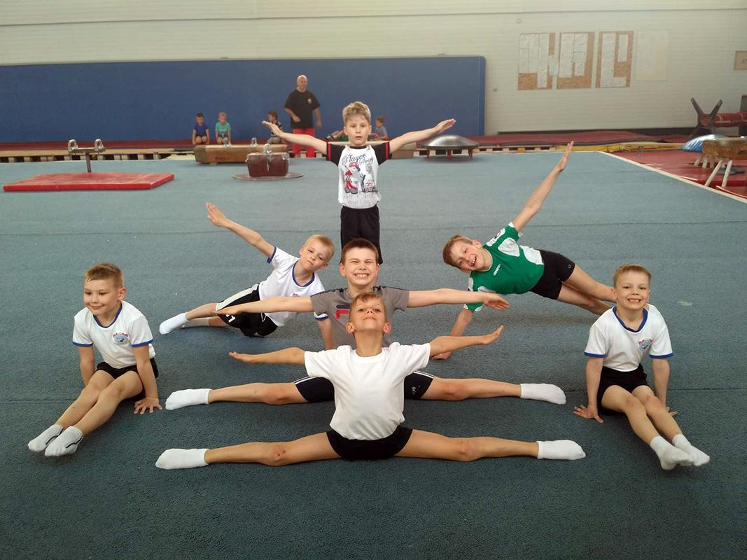 Профессиональная спортивная гимнастика для детей от 5 лет